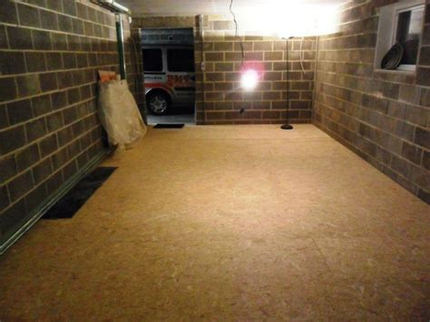 chambre acoustique pose du plancher osb 22 mm création de mon local de