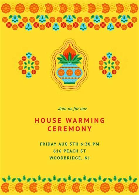 house warming ceremony invitation unique housewarming