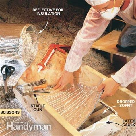 seal attic air leaks  family handyman