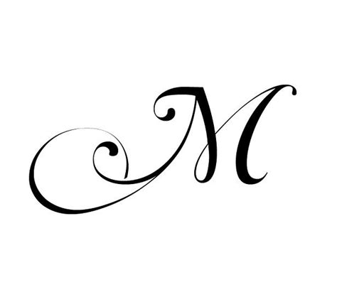 fancy letter m designs 17 best images about 2nd monogram on m tattoos