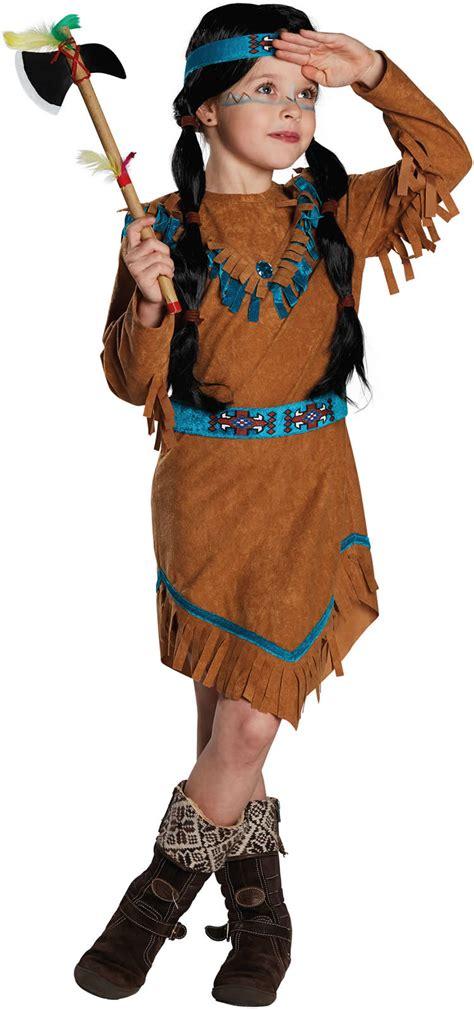 karneval kostüme indianer indianerm 228 dchen indianerin indianer kinder karneval kost 252 m 104 164 ebay