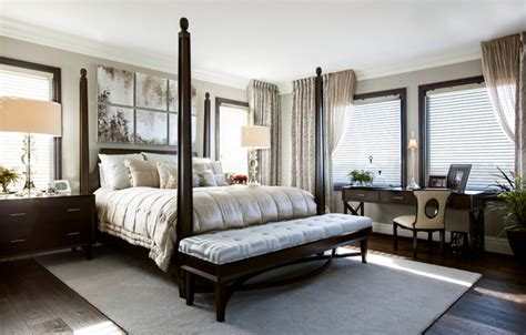 Luxury Master Bedroom Robeson Design Transitional