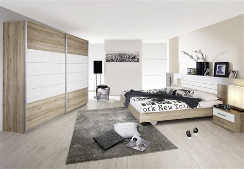 chambre contemporaine adulte chambre adulte contemporaine coloris ch 234 ne clair blanc