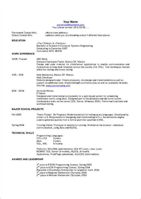 18480 ten resume writing commandments 10 commandments of resume writing sle templates