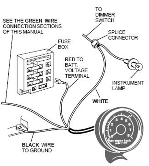 Tach Wire Diagram by Ford Ranger Tachometer Install