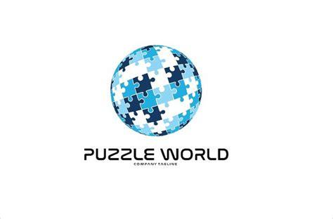 puzzle logos   psd vector ai eps format