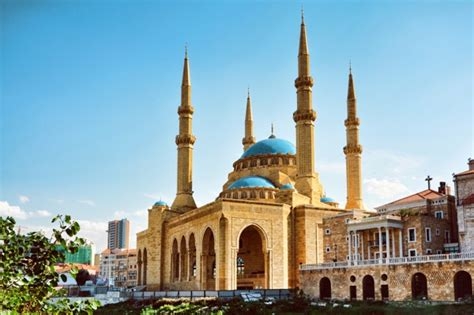 ** BEIRUT **, BCD, Hariri Mosque & St. George Cathedral ...