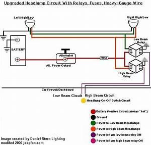 Yj Headlight Switch Wiring Diagram