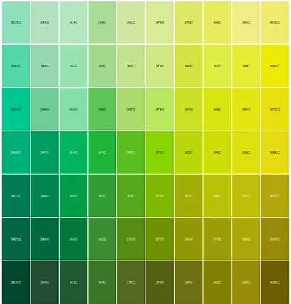 Pantone Chart Matching Colour Match Colors Shades