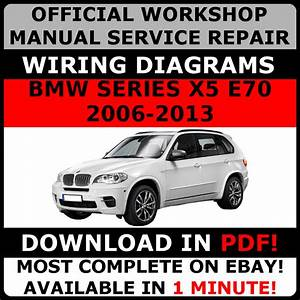 Official Workshop Repair Manual For Bmw Series X5 E70 2006