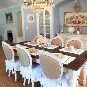 Bella French Farmhouse Dining Room - Eclectic - Bedroom