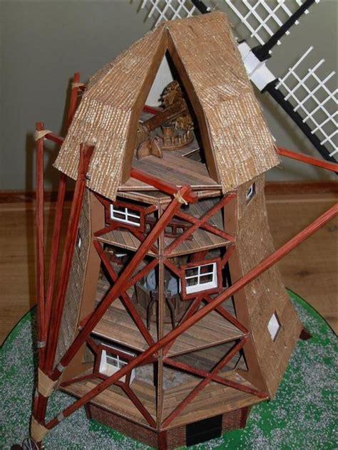 amati dutch windmill  scale quality wooden model kit