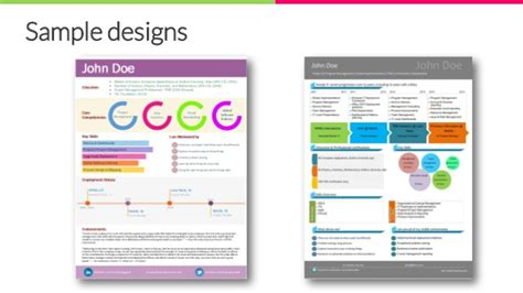 create your visual resume with pictocv today