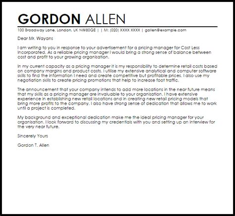 cover letter models  cover letter examples   job search