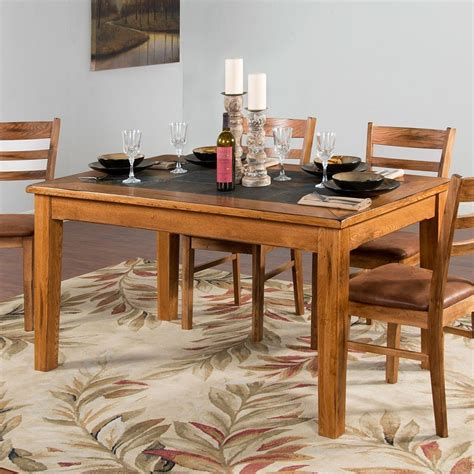 slate kitchen table sedona slate top dining table designs furniture cart