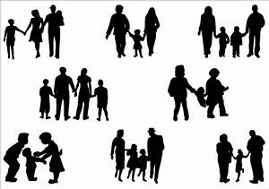 Silhouette Of A Family - ClipArt Best