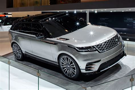 range rover land rover new range rover velar suv revealed geneva debut specs