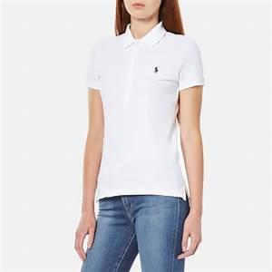 Polo Ralph Lauren Women's Julie Polo Shirt - White - Free ...