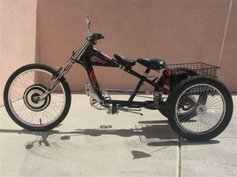 Adult 3 Wheel Bicycle, Gebe Or Friction Drive Help
