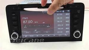 Dvd Radio Gps Multimedia Audi A3 Con Bluetooth Usb Tdt Hd