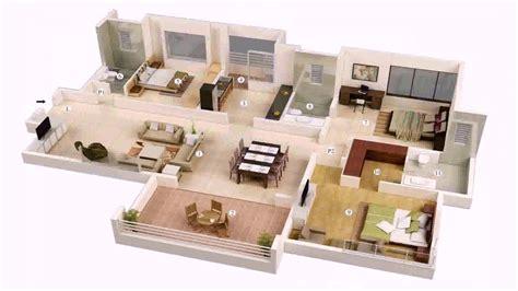 bedroom house plans  double garage  south africa  description youtube