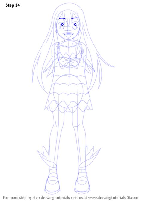 step  step   draw wendy marvell  fairy tail