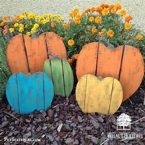 Rustic, Painted, Wood, Pallet, Pumpkins
