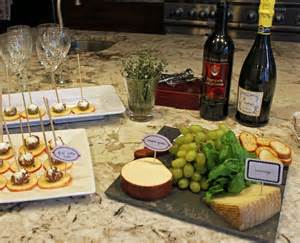 Wine and Cheese Party Table Ideas