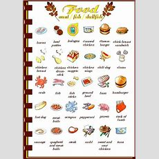 Meat, Fish And Shellfish Picture Dictionary