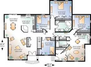 4 bedroom cabin plans traditional 4 bedroom house plans the interior design