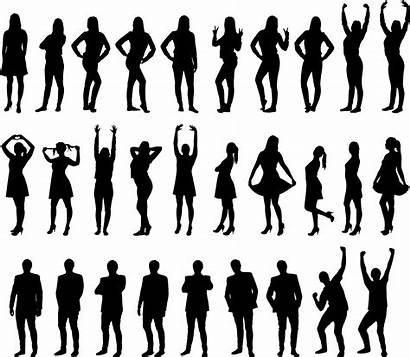 Human Humans Transparent Pngio Silhouettes Clipart Openclipart