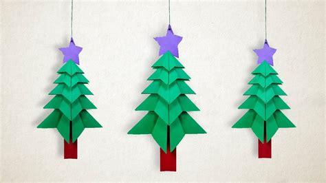 hanging christmas tree diy hanging