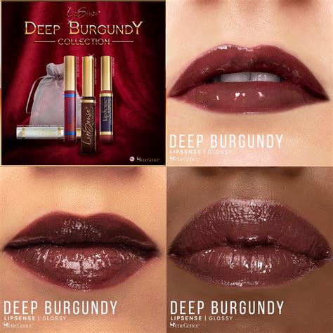 Deep Burgundy LipSense® Collection (Limited Edition