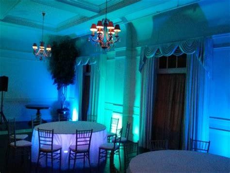 color wash uplighting portland wedding lights