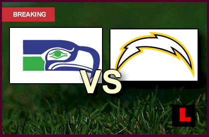 seahawks  chargers  prompts football game tonight