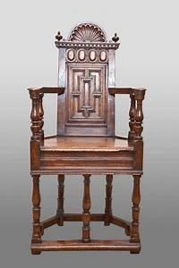 Pair Of French Renaissance Walnut Caquetoire Chairs