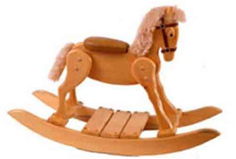 wooden rocking horse plans