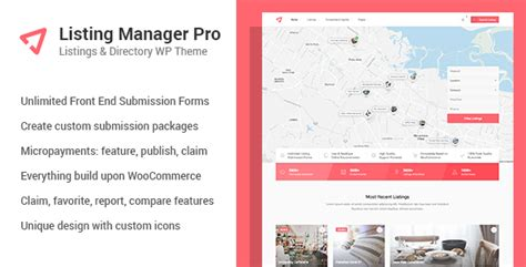 listing manager pro directory theme for