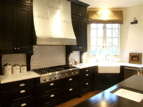 Amazing Kitchen Design With Touches Of Gold by Amazing Kitchen Design With Espresso Stained Kitchen