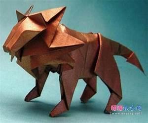 Origami Lion By T Gotani
