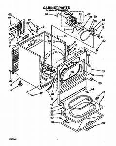 Kitchenaid Model Keye660wwh1 Residential Dryer Genuine Parts