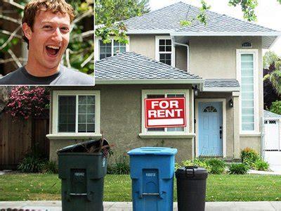 rent mark zuckerbergs house business insider