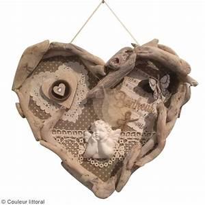 Cadre En Bois Flotté : diy cadre coeur en bois flott id es et conseils f te des m res ~ Teatrodelosmanantiales.com Idées de Décoration