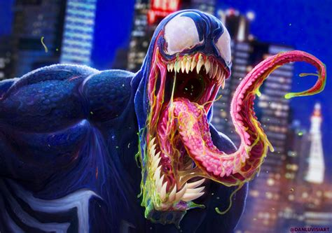 Venom  By Danluvisiart On Deviantart