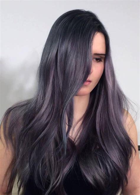 Silverpurpleblue Lavender Hues Hair Colors Ideas