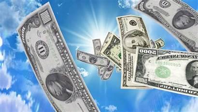 Money Falling 3d Wallpapers Background Desktop Pc
