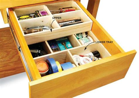unique tool drawer organizer ideas  pinterest tool