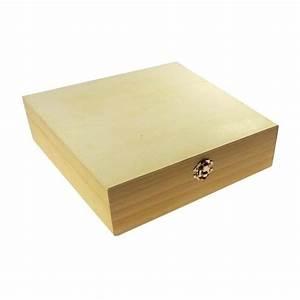 Boite De Rangement : bo te de rangement casiers en bois brut d corer ~ Teatrodelosmanantiales.com Idées de Décoration