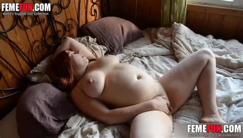 Hidden Cam Caught Busty Wife Masturbate On The Bed After