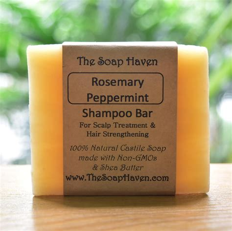 rosemary peppermint shampoo bar gmo